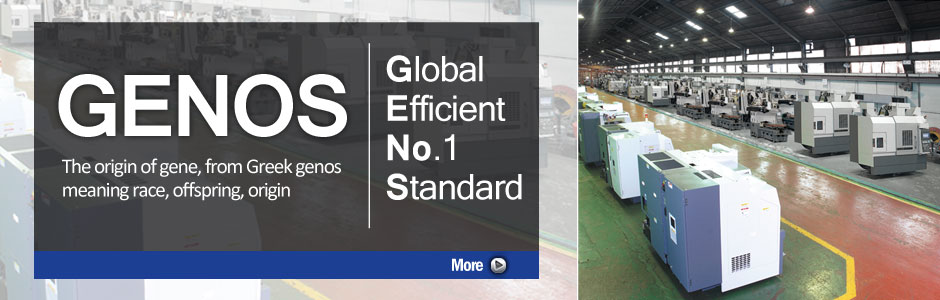 GENOS - Global Efficient No.1 Standard!